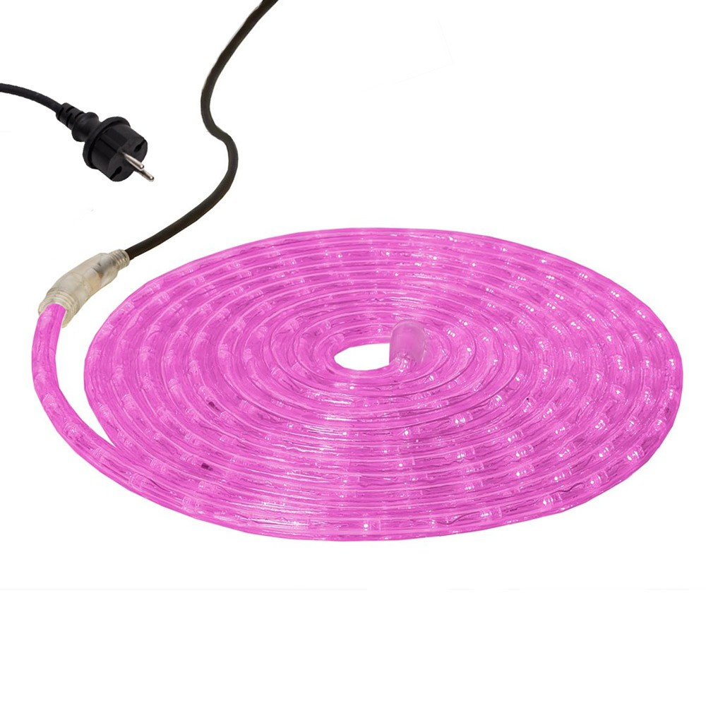 Lichtschlauch ROPELIGHT FLEX LED - Outdoor - 216 LED - 6-00m - pink