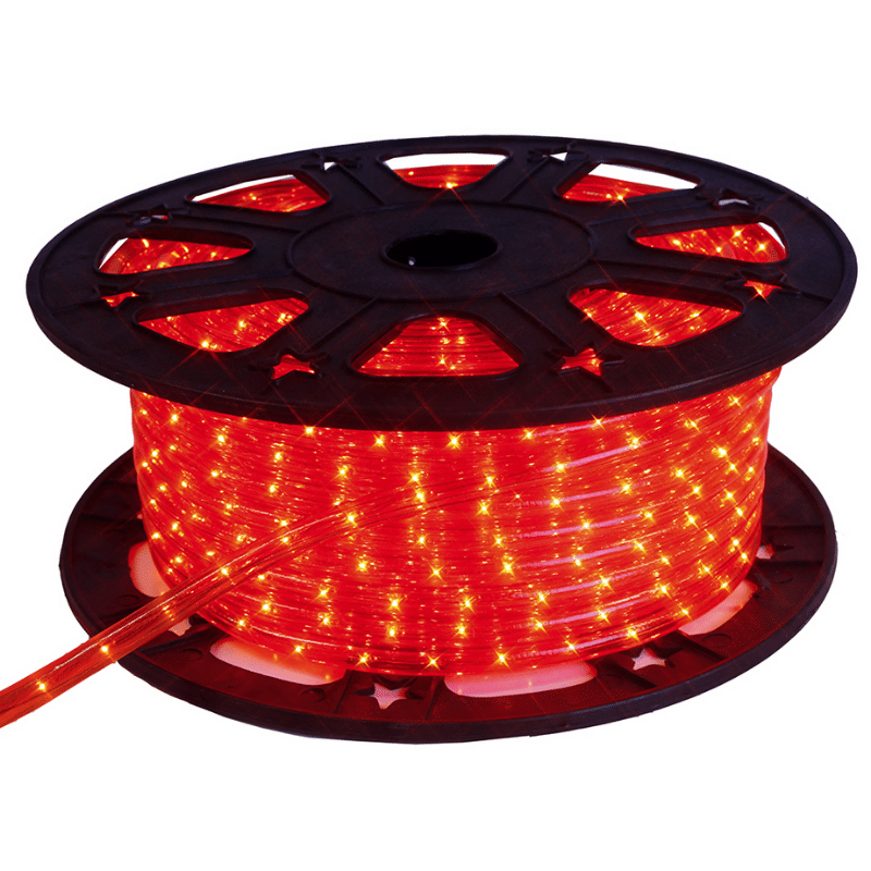 Lichtschlauch ROPELIGHT LED - Outdoor - 1620 LED - 45-00m - Rot